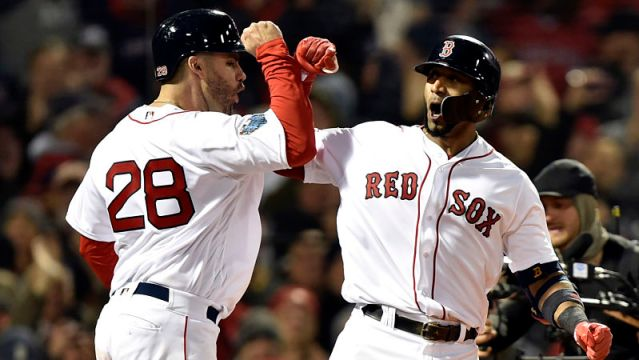 MLB: World Series-Los Angeles Dodgers at Boston Red Sox Major League Baseball